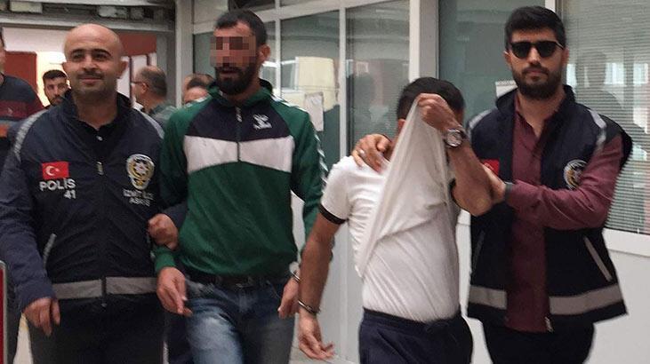 Hırsızlıktan aranırken yakalanan 4 kişi tutuklandı