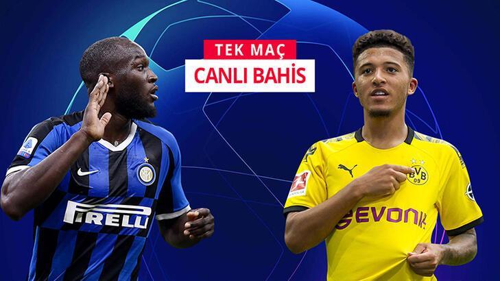 Devler Ligi'nde Inter'in konuğu Dortmund! Kritik maç Misli.com'da...