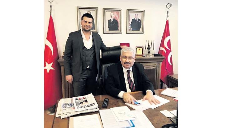 MHP Genel Merkezi'nde Yalçın'ın oğlu için mevlit
