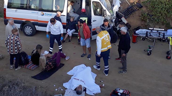 Turistler hayatlarının şokunu yaşadı! Dağıldılar...