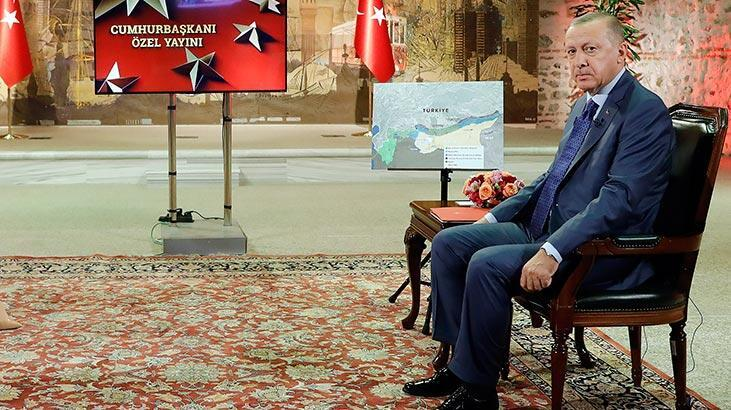 Cumhurbaşkanı Erdoğan: Mazlum denilen teröristi ABD'nin bize teslim etmesi lazım