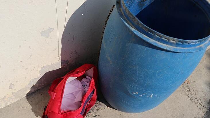 Çöp bidonunun yanına bırakılan bebeğin annesi bulundu!