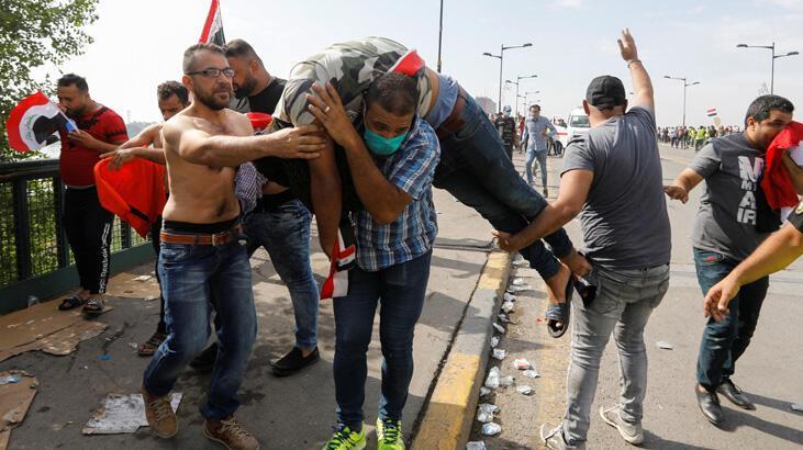 Bağdat'taki gösterilerde ölü sayısı artıyor