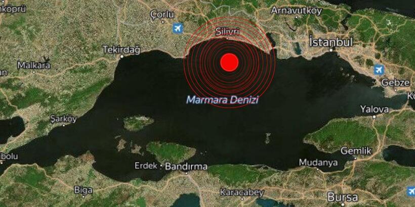 Son dakika! İstanbul'da deprem...