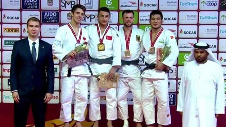 Milli judocu Bilal Çiloğlu'dan altın madalya!