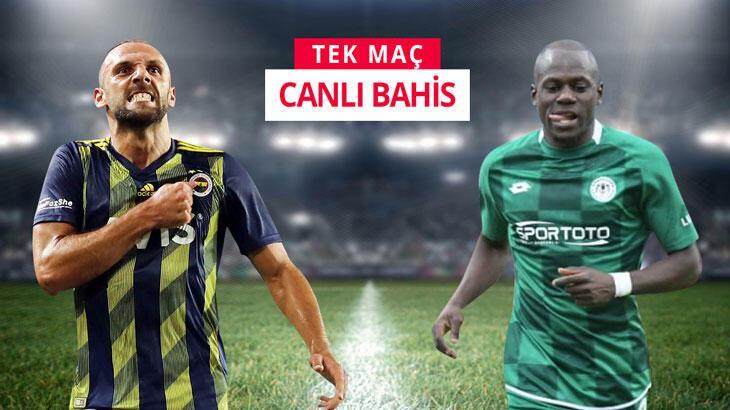 Fenerbahçe'nin konuğu Konyaspor! Mücadele tek maç ve canlı bahisle Misli.com'da...