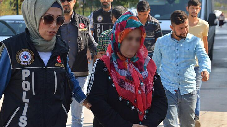 3 bin 316 uyuşturucu hapla yakalanan kadın tutuklandı