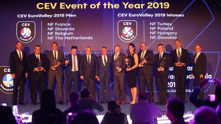 Türkiye Voleybol Federasyonu ve Neslihan Demir Güler'e büyük onur