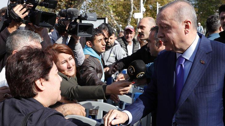 Cumhurbaşkanı Erdoğan'dan 'EYT çıkar mı?' sorusuna yanıt