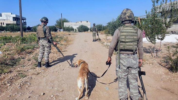 YPG/PKK'dan Barış Pınarı bölgesine taciz atışı...