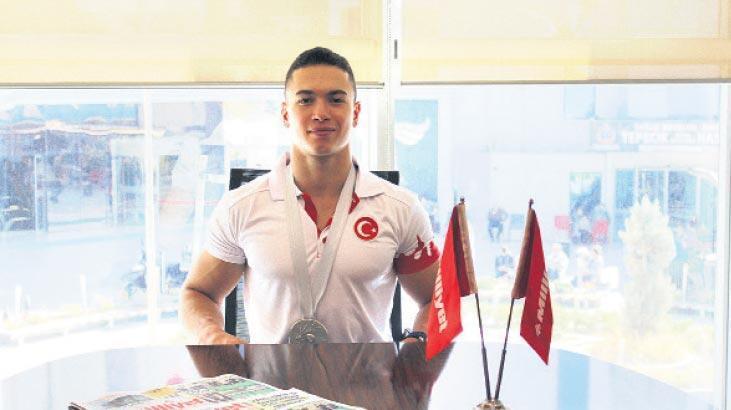 2020 Tokyo Olimpiyatları'nda ülkemizi temsil etme hakkı yakalayan milli cimnastikçi Milliyet Ege'ye konuştu: Söz verdim tutacağım
