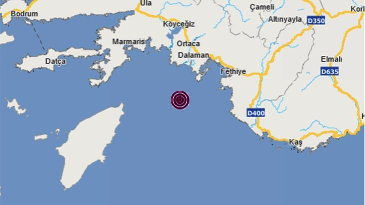 Son dakika | Akdeniz'de korkutan deprem