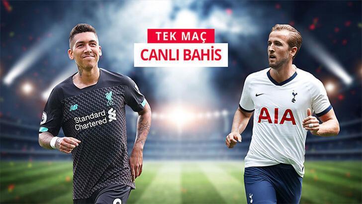 Liverpool-Tottenham maçının canlı bahis heyecanı misli.com'da