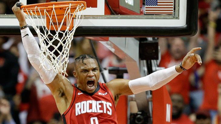 Westbrook, Magic Johnson'ı geride bıraktı
