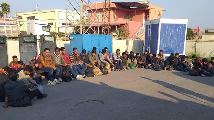 Adana'da 81 düzensiz göçmen yakalandı