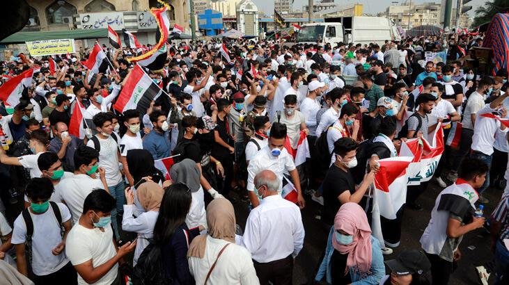 Son dakika... Bağdat'ta sokağa çıkma yasağı ilan edildi