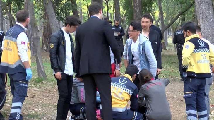 Florya'da öğrencilerin kanlı kavgası