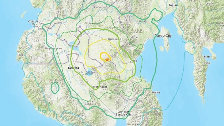 Filipinler'de 6.6 büyüklüğünde deprem