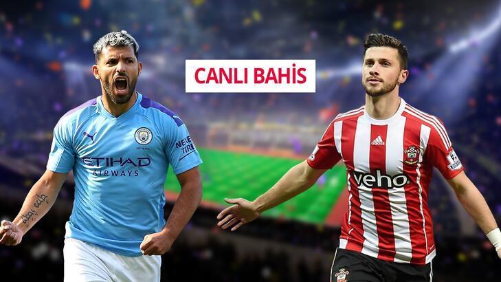 Manchester City - Southampton  canlı bahis heyecanı Misli.com'da