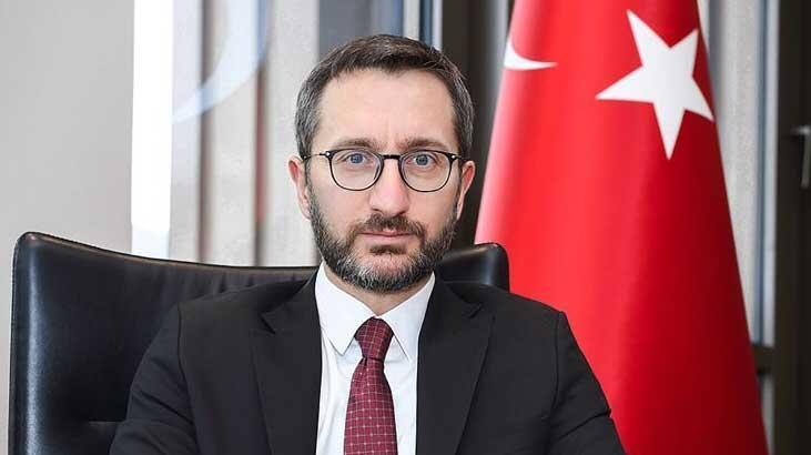 İletişim Başkanı Fahrettin Altun'dan 29 Ekim mesajı