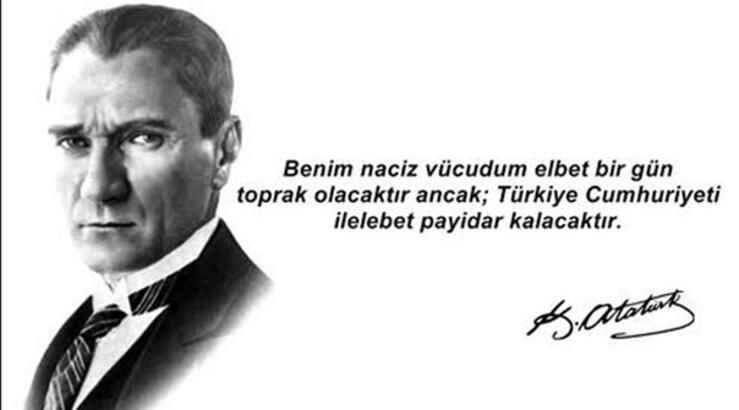 Mustafa Kemal Atatürk'ün Cumhuriyet hakkında sözleri! 29 Ekim Cumhuriyet Bayramı kutlu olsun