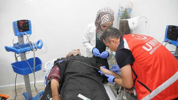 Türk doktorlar, Tel Abyad'da sağlık hizmeti vermeye başladı