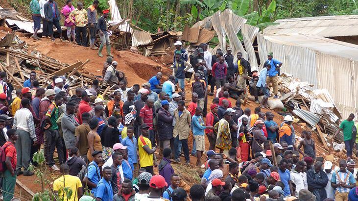 Kamerun'daki toprak kaymasında ölü sayısı 42'ye çıktı