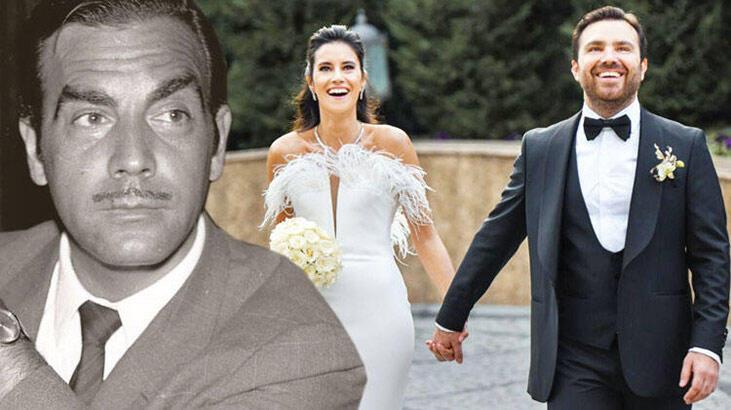 Ayhan Işık'ın torunu Emre Levent evlendi