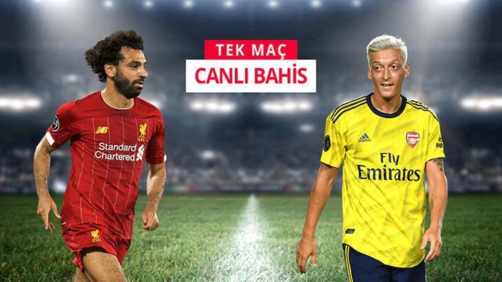 Liverpool - Arsenal canlı bahis heyecanı Misli.com'da