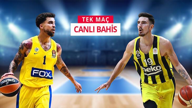 Maccabi Tel Aviv - Fenerbahçe Beko canlı heyecanı Misli.com'da