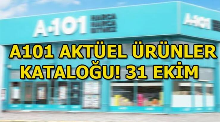 A101 aktüel ürünler kataloğu! 31 Ekim A101 indirimli ürünler listesi
