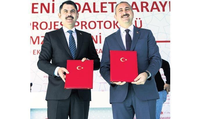 Ankara'ya yeni adliye