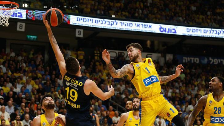 Maccabi FOX - Fenerbahçe  Beko: 67-55