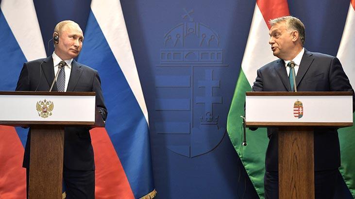 Putin: Türk Akımı doğal gaz boru hattına katılımı Macaristan'ın çıkarına