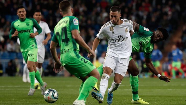 Real Madrid'den Leganes'e karşı rahat galibiyet