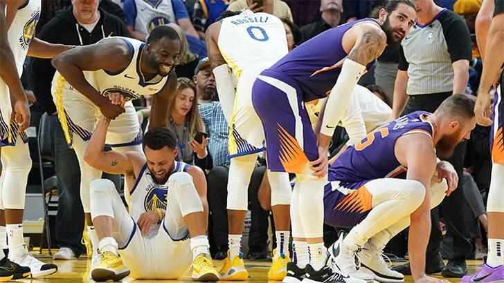 Warriors'ta Curry şoku! Sol el bileğinde kırık...