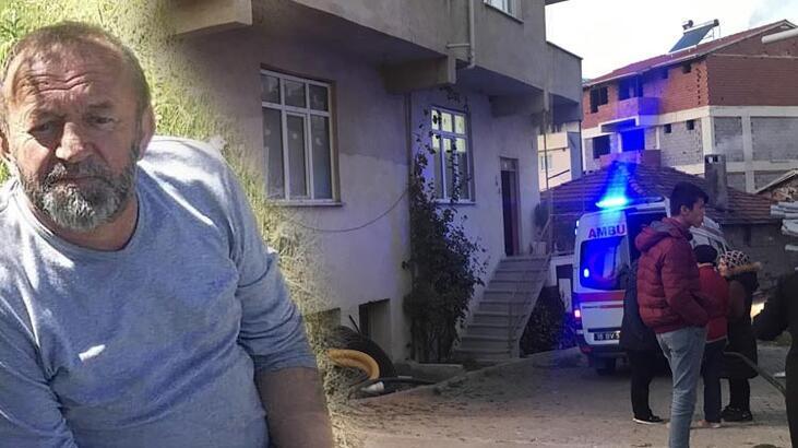 Kapısını kırıp girdikleri evden erkek cesedi çıktı!
