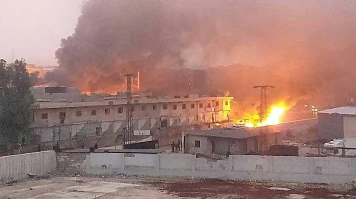 Afrin'de terör saldırısı! Çok sayıda ölü ve yaralılar var