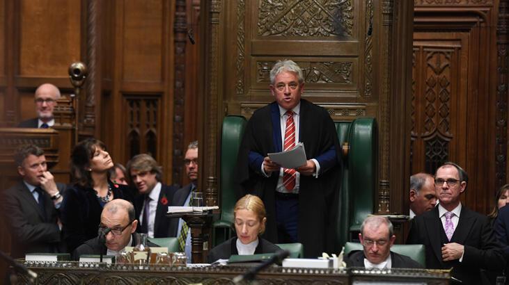 Brexit'e damga vuran Avam Kamarası Başkanı görevi bırakıyor