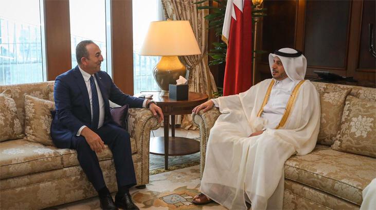 Çavuşoğlu'ndan Katar'a teşekkür