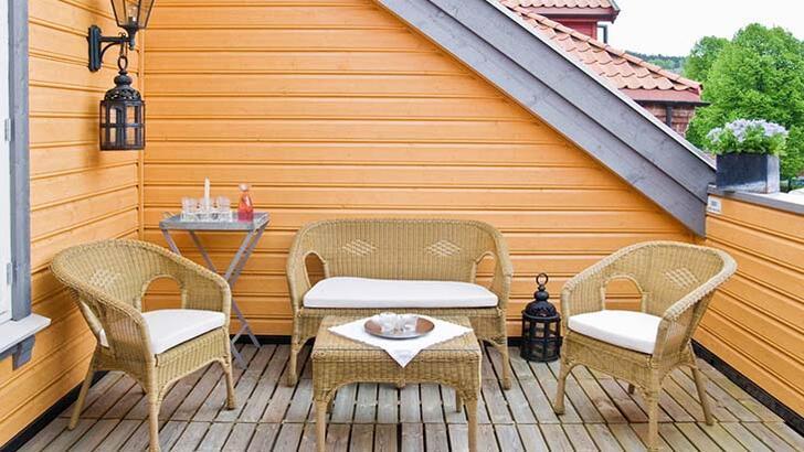 Soğuk havalarda teras dekorasyonu nasıl yapılır?