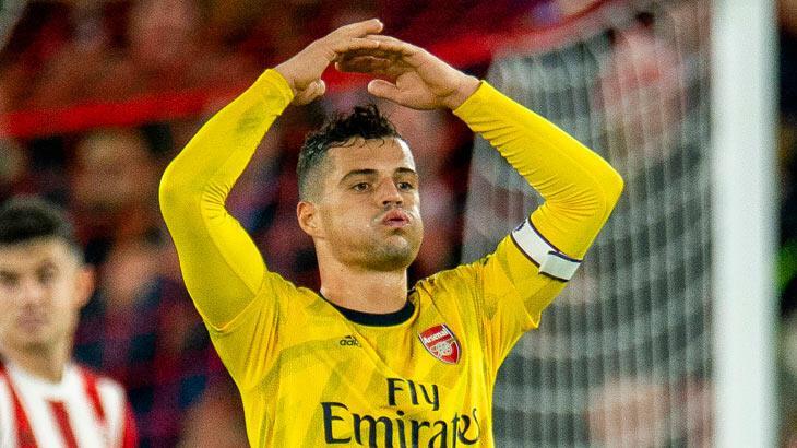 Arsenal taraftarından Xhaka'ya tehdit mesajı