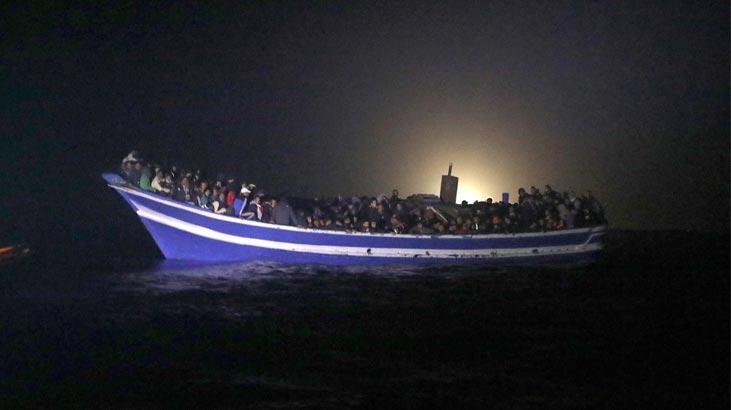 İzmir'de 232 düzensiz göçmen yakalandı