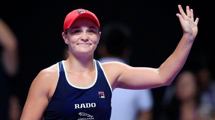 Svitolina'nın finaldeki rakibi Ashleigh Barty