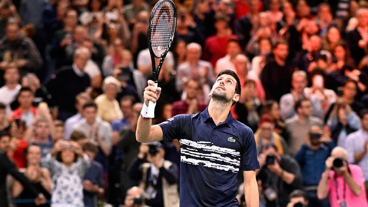 Novak Djokovic, Paris Masters Tenis Turnuvası'nda finalde