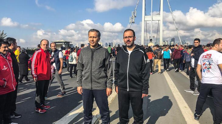 Vodafone 41. İstanbul Maratonu'nun startını Bakan Kasapoğlu verececek