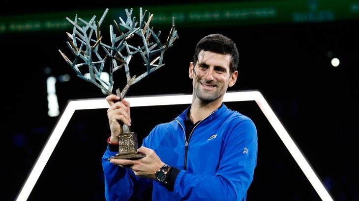 Paris Masters'ta şampiyon Djokovic