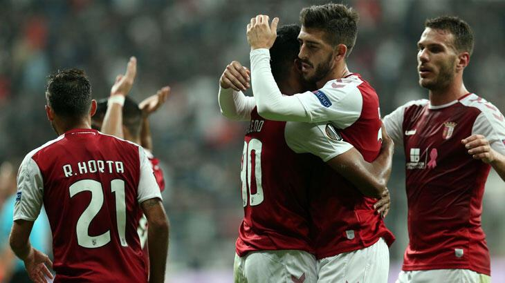 Beşiktaş'ın rakibi Braga ligde berabere kaldı