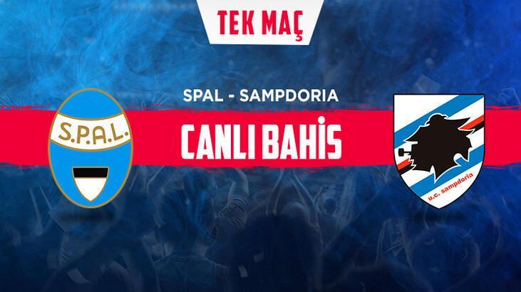 Spal – Sampdoria maçı canlı bahis heyecanı Misli.com'da