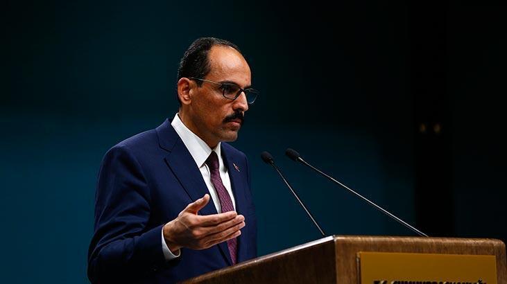 Cumhurbaşkanlığı Sözcüsü Kalın'dan ABD ziyaretiyle ilgili flaş açıklama